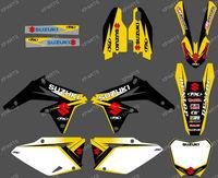 TEAM DECALS GRAPHICS & BACKGROUNDS kits For SUZUKI RMZ450 2008 2009 2010 2011 2012 (FX 0146)