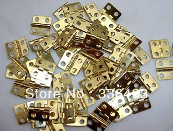 Packaging Hardware hinge hinge flat copper special small 13 * 12MM