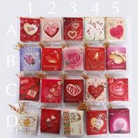 random Folded small greeting card /christmas greeting card/ birthday greeting card  free shipping