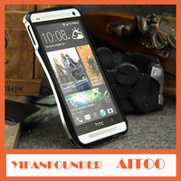 High Quality Metal Aluminum Bumper case For HTC ONE M7 Retail package 1pcs Free shipping