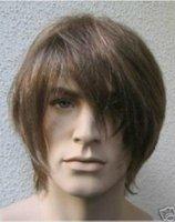 Cosplay short brown Mixed Men wigs
