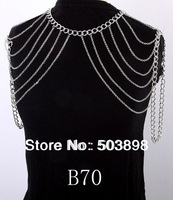 Free Ship B70 New  Trendy Shoulder Body Chain Fashion Jewelry Necklace