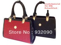 Siwei Ya paint bag counter genuine handbag shoulder bag Messenger bag crinkling material 751-9765