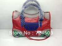 2014Hot new fashion ladies leather handbags and purses wholesale shoulder bag Messenger bag Model 08433244Bu Jiapi sheepskin