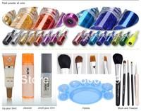 Professional Moon light glitter tattoo kit/Body Art Deluxe Kit (38color) BALK38