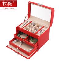 Jewelry box toy storage box little princess dressing storage box