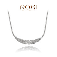 ROXI brand fashion white gold plated Necklaces for women,high quality,Fashion women's Jewelry,2030001630