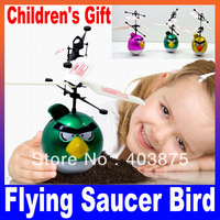 Children's Christmas Gift Flying Saucer Bird Infrared Induction RC Helicopter Floating UFO Remote Control High Quality Fun Toy