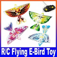 Remote Control Flapping Wings Like Authentic Bird Helicopter R/C Flying Bird Aircraft RC Airplane E-Bird Boy Toy Free Shipping