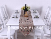 30cm*180cm cotton flax table runner cloth (Factory direct sales iron tower style  home appliance )