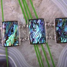 """Free Shipping Fashion Jewelry Natural New Zealand Abalone Shell Bracelet 8"""" 1Pcs H734(China (Mainland))"""