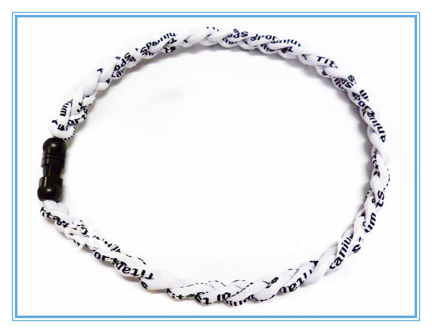 3 Ropes Tornado Germanium&Titanium Healthy Necklace sports necklace x45 Athletes 27Colors(China (Mainland))
