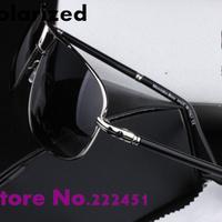 Brand polarized sunglasses for men new man sunglasses fashion star models retro classic toad polarized glasses Free shipping