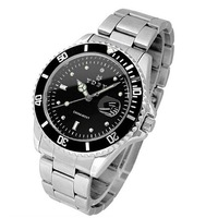 Free Shipping Fashion Men Women Diamond Luxury Lovers Watch Full Steel Waterproof Quartzf Watch