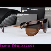 Promotions Men's brand designer Sunglasses P8510 star models fashion sunglasses yurt drivers polarizer Free shipping