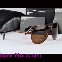 Promotions Men's brand designer Sunglasses P8510 star models fashion sunglasses yurt drivers polarizer with original box