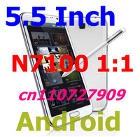 Hot n7100 note 2 1:1 Android 2GB RAM 16GB rom MTK6589 Quad core 1.6ghz 5.5 inch capacitive screen smart cellphone not inew i3000