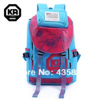 HOT SALE:Travel Backpack 100% Cotton Canvas laptop bag Casual male women's   School bags