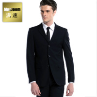 free shipping men suit normal set weeding men suit bridegroom setsBuckle male suits slim suit married commercial male set formal