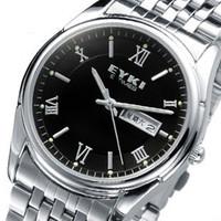 Ikey vintage male watch fashion waterproof strip quartz watch men's calendar fashion table mens watch