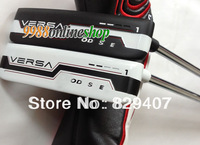 "2013Hot New  golf club ODSy VERSA #1golf putter (2/PCs) black""or""white steel shaft+putter Club HeadCover EMS Free Shipping"