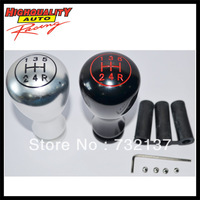 Silver Fashion Cool Shift Knob 5-speed