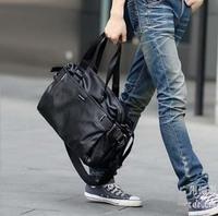 Free shipping Korean version of the new man bag pu leather men shoulder bag handbag Messenger bag the schoolbag