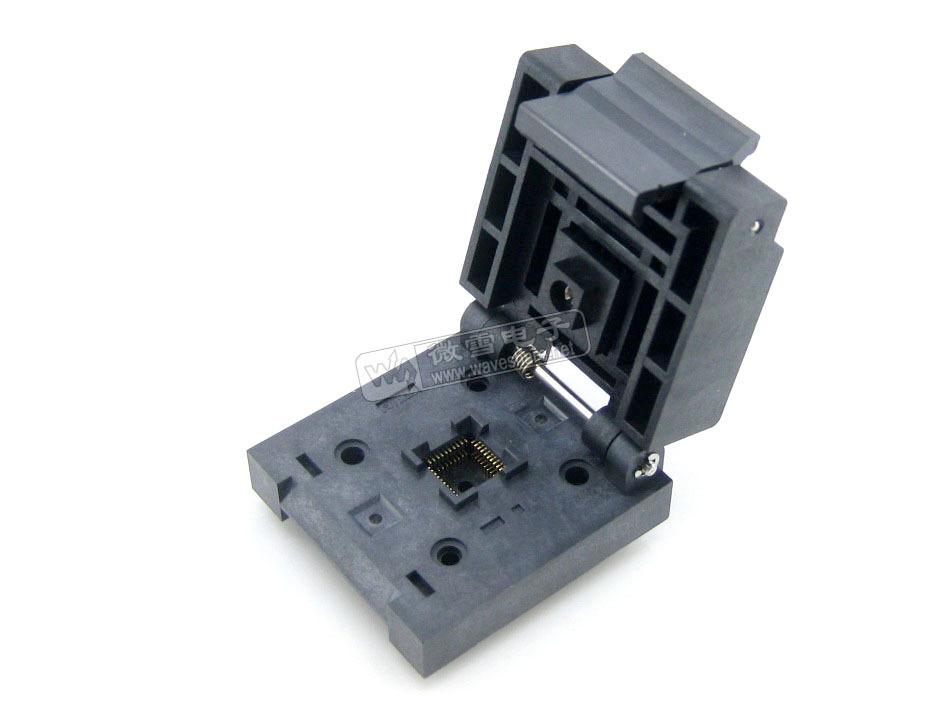 5PCS QFN-40B-0.5-01 QFN40 MLF 0.5mm Programming Block IC the transposon adaptation Block Leave(China (Mainland))