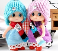 Mini lovely fashion doll, beautiful gifts doll for children, mobile phone straps.