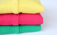 SW3100 children's girl cotton solid sweater cardigan /Girls sweater