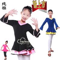 Autumn and winter princess dress dance clothes dance clothes the infant child leotard female Latin dance clothes child