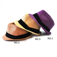 2013 Fashion Trilby Unisex High Quality Fedoral Hats for Men Wholesale Retail Free Shiping 57 59 2 Sizes Travel Cap
