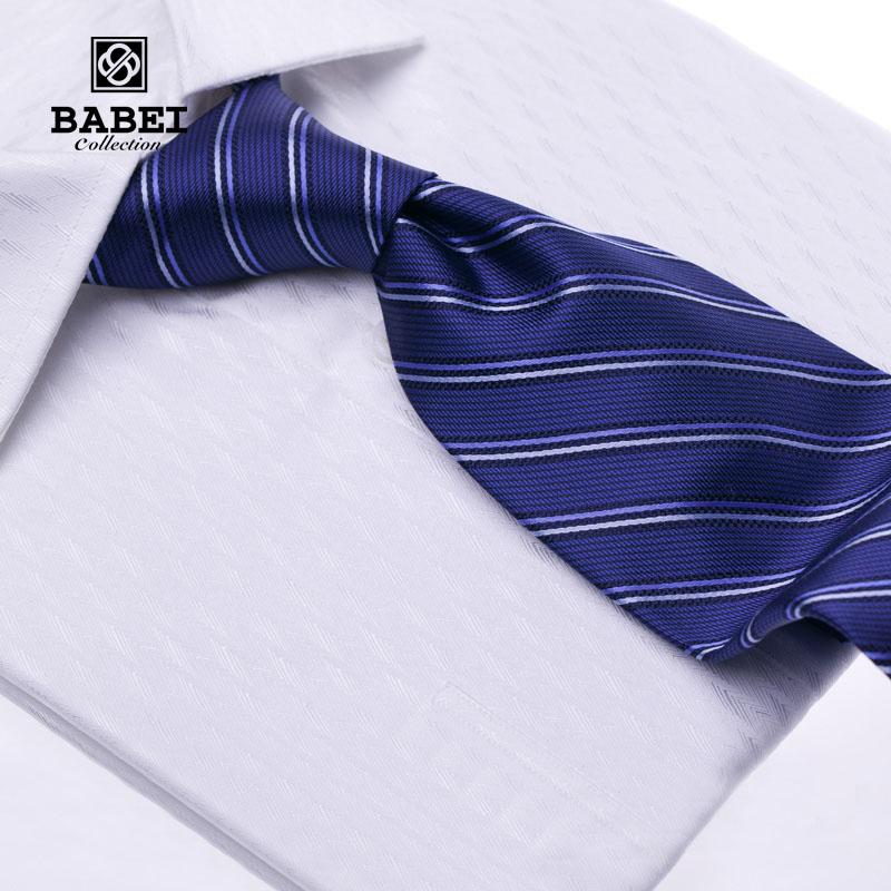 Babei high quality barber male business casual tie fashion wool lining nano silk(China (Mainland))
