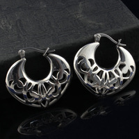 heart  hollow earrings women's stainless steel earrings hight quantity  trendy  jewelry