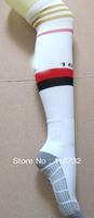 free shipping 2013-14 top thai quality AC milan cotton soccer socks training football home away football socks kaka Balotelli