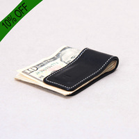 Handmade Leather Money Clip designer Leather Money Clip - Magnetic Money Clip