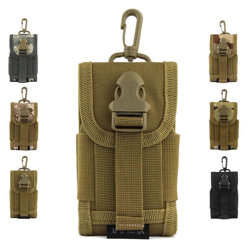 Molle mobile phone bag outdoor bag mobile phone case cigarette mini tool bag(China (Mainland))