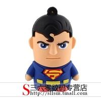 Personality cool usb flash drive cartoon usb flash drive Superman usb flash drive gift usb flash drive 32G