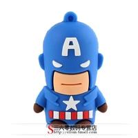 Classic cartoon usb flash drive Captain America usb flash drive 32G