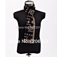 2013 Korean cash Mens Silk shawl Rose Pattern long Scarf