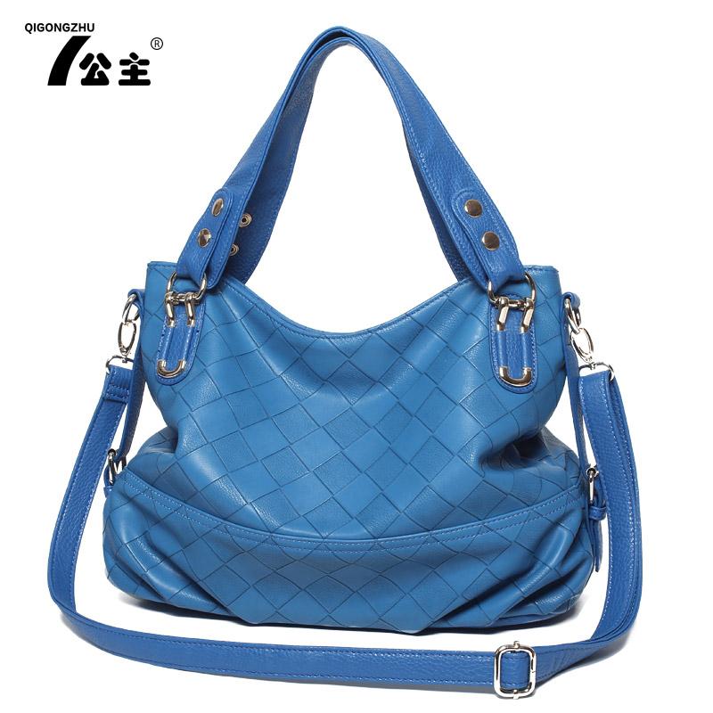 2013 women's handbag fashion handbag one shoulder cross-body bags big check(China (Mainland))