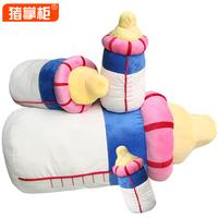 Pig bottle pillow plush toy Large dolls doll birthday gift girls