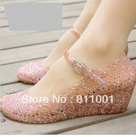 Hot Selling hole shoes jelly shoes  summer shoes for women  Retail Garden  Hollowing carved Sandals Slippers