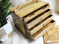 Gold phoebe jewelry box jewelry box gall wood panel suitcase bookcase jewelry box pyxides bookcase k8