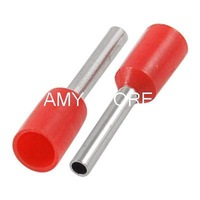 1.5mm Tube Red Wire Connector Pre Insulated Terminals E7508