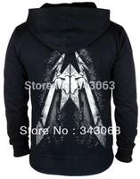 Metallica hoody Hoodies Hot sell high quality clothing jacket hot brand rock sweatshirt items skull punk death dark metal