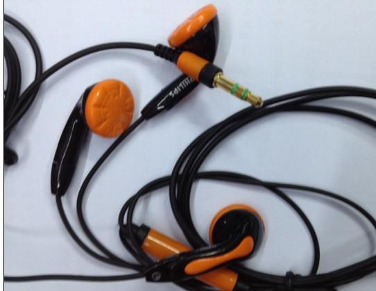 Newman red high-elastic line mobile phone mp3 bass earphones(China (Mainland))