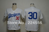 Free shipping can mix order baseball Jersey,Los Angeles Dodgers #30 Navarro Cream M&N 1962 jerseys,number and name embroidery