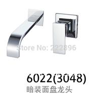 Brass Sink Chrome Bathroom Faucet Handles Basin Mixer Water Tap torneira de parede para banheiro torneira lavabo grifos