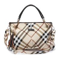 2014 new arrival women's plaid handbag fashion classic check pattern shoulder bag vintage elegant  messenger bags